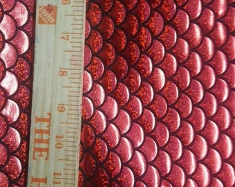 Fish Scale Fabric Etsy