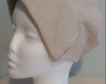 Girl's tudor style coif hat
