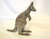 Vintage International Harvester Australian Geelong Works Kangaroo Hood Ornament - Case I H Kangaroo