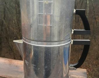 Wearever Drip Coffee Pot 1950's Kitchen Kitsch