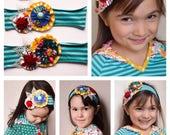 M2M Matilda Jane ONCE UPON A TIME Keepsake Chrissy Baby Bear Long Ago Dress Statement Fancy Headband Photo Op