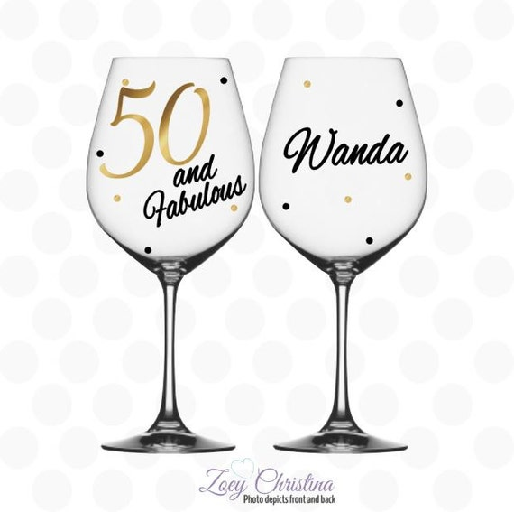Hand Painted Retirement Wine Glasses