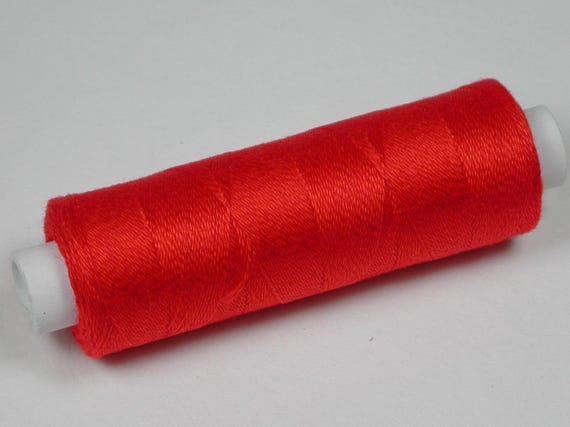 3001 Venne wool, cotton, knitting and crochet yarn for the miniature handmade, colour red