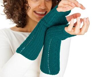 SALE 50% OFF Herringbonel Arm warmers From Pure Merino Yarn Texting Gloves Fingerless Gloves Fingerless Arm warmers Woollen Gloves