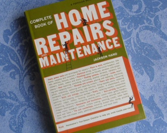 Popular mechanics complete book of home repair and vintage book complete book of home repairs and maintenance jackson hand a popular solutioingenieria Images