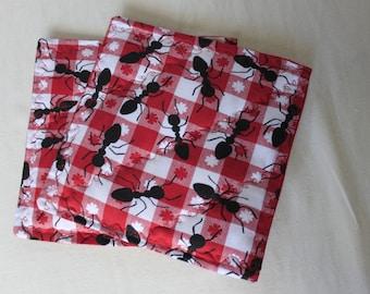 Picnic Ants Pot Holders-Trivets (Set of 2)