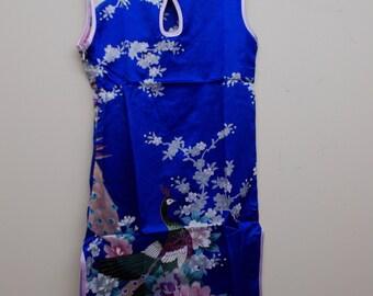 BEAUTIFUL Girls SILK Dress-Size 10