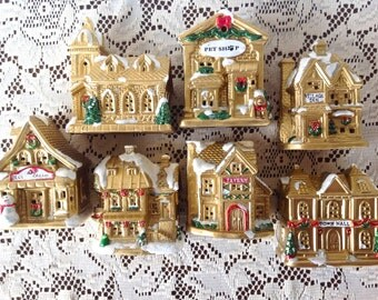 Christmas Village Etsy