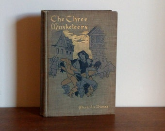 The Three Musketeers, Alexandre Dumas 1894 Crowell Illustrated Edition