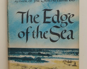 The Edge of the Sea by Rachel Carson HB w DJ 1955 first printing