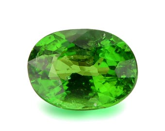 Calibrated 6 x 4mm Tsavorite Green Garnet Oval Shape Loose Gemstones (Watch Video) Free Shipping SKU 609C001