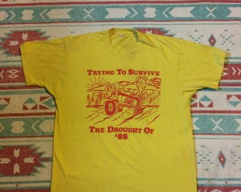 Vintage Trying to Survive the Drought of 88 Soft T-Shirt