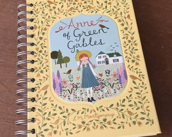 Anne of Green Gables // Leatherbound // Recycled Journal Notebook