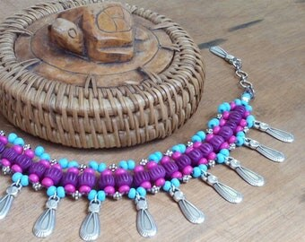 Bracelet - Bahia Del Sol - foot jewels - boho - hippy - gypsy - gypset - peg - tribal - Ibiza - ankle bracelet - yoga - Zen