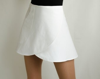 Sporty Cotton Skirt