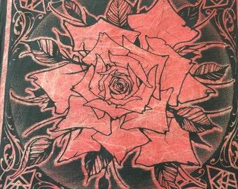 Red Rose Bandana