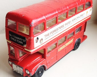Routemaster Red London Bus Toy