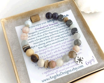 New Beginnings Graduation Energy Bracelet