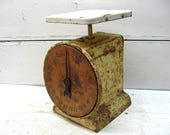 Vintage Scale Great Patina Shabby Grungy Rusty Primitive Kitchen General Store
