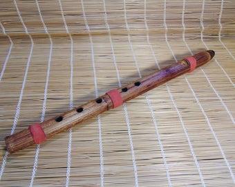 Native American Style Flute.Japanese knotweed. Key F#