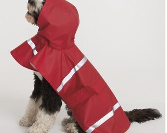 Personalized Doggie Rain Jacket-