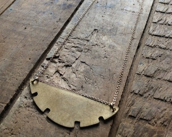 sawblade necklace