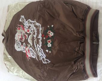 Vintage Sukajan Jacket - From Tokyo - Dragon - Large - Unisex