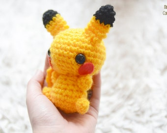 Pikachu pokemon (FLUFFY BIG)