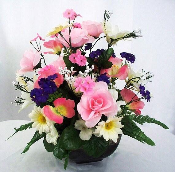 Arreglos Florales Flores Artificiales Decoracin Del Hogar