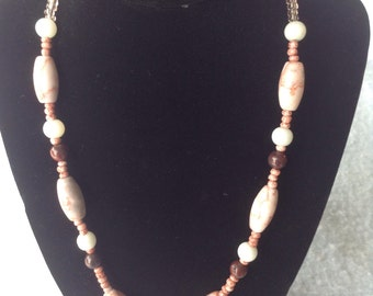 Redline Marble Necklace