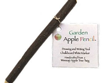 Apple Pencil - Garden Plant White Marker