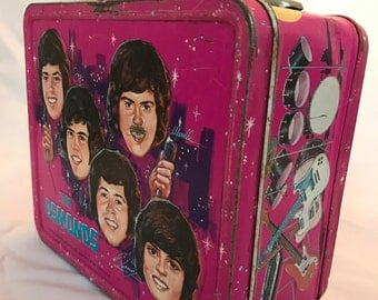 Vintage 1973 The OSMOND's Lunchbox - Thermos Brand - Good Condition