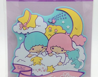 Sanrio Original Little Twin Stars Rubber Sticker (085375) Buy other items together for BETTER price
