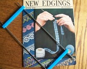 Hairpin Lace Fork,A Bookful of New Edgings Book,Hairpin Lace Pattern- FREE SHIPPING