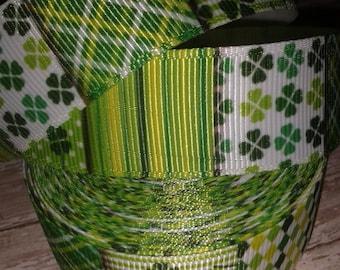 St. Patrick's Day Grosgrain Ribbon