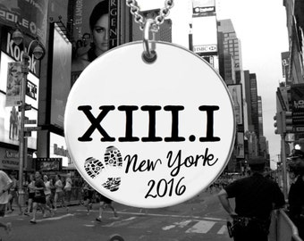 XIII.I Necklace | Half Marathon Necklace | Marathon Gifts | Half Marathon Jewelry | Personalized Bracelet Korena Loves