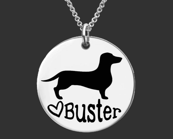 Dachshund Necklace | Dachshund Jewelry | Personalized Dog Necklace | Personalized Gifts | Korena Loves