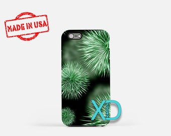 Microscopic Germ iPhone Case, Bacteria iPhone Case, Germ iPhone 8 Case, iPhone 6s Case, iPhone 7 Case, Phone Case, iPhone X Case, SE Case