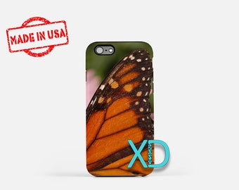 Butterfly iPhone Case, Monarch iPhone Case, Butterfly iPhone 8 Case, iPhone 6s Case, iPhone 7 Case, Phone Case, iPhone X Case, SE Case