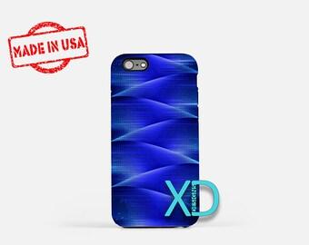 Navy Blue iPhone Case, Zig Zag iPhone Case, Dark Blue iPhone 8 Case, iPhone 6s Case, iPhone 7 Case, Phone Case, iPhone X Case, SE Case