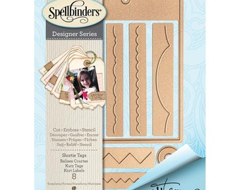 Spellbinders  - Shapeabilities -  Shortie Tags Dies