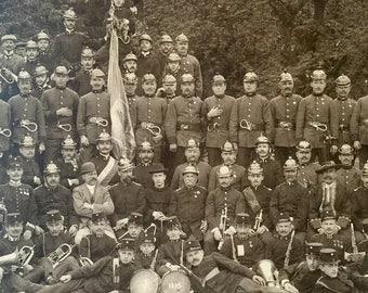 Original 1910 Military Band Photo