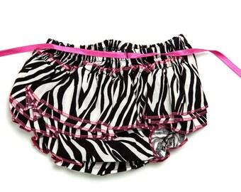 Baby Bloomers - zebra