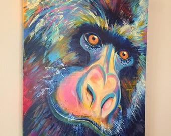 Gorilla 24x30