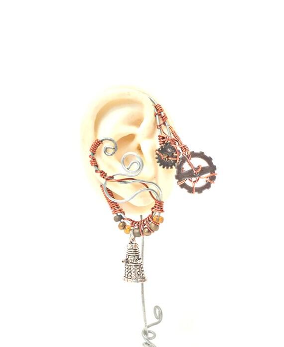 Steampunk Dalek Ear Wrap - Right Ear