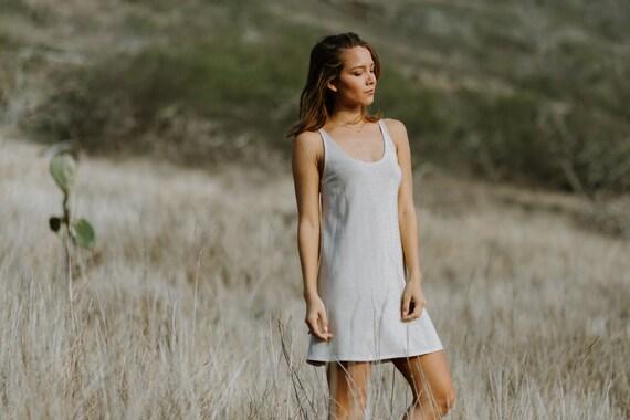 Mini Slip Dress / Sparkle Ivory/Gold or Taupe