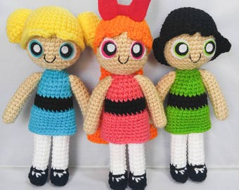 Amigurumi Powerpuff Girls Crochet Doll