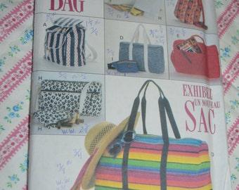 Butterick 6678 Sport Bags Sewing Pattern - UNCUT
