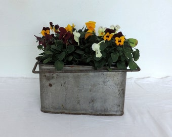 Brazier, hot-plate or planter, vintage french home decor, retro interior styling, country cottage, shabby chic