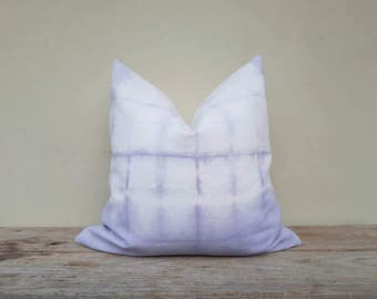 """purple pillow cover, pillow cover,tie dye pillow cover 20"""" x 20"""""""